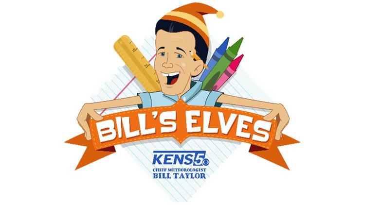 "Calling all of Bill's Elves! We need your help to make sure thousands of San Antonio-area kids under the care of Child Protective Services get a good start to the new school year!<!--<img src=""http://q.kens5.com/assets/donate-now-button-300x100.jpg"" title=""Bill's Elves School Supply Drive - Donate Now!"" width=""200px"" />-->"