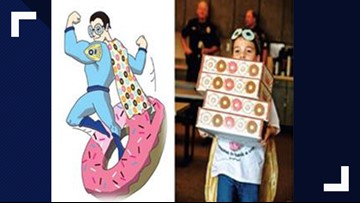 'The Donut Boy' is coming to SAPD's rescue Saturday