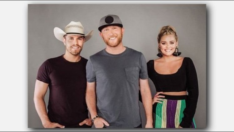 Country Stars Cole Swindell Dustin Lynch Coming To New