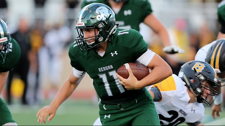 FBH Reagan quarterback Travis Sthele on the go in 2018
