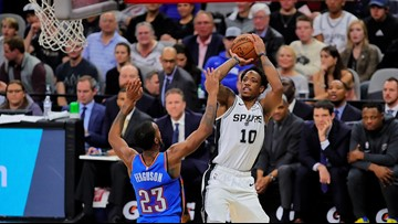 DeRozan ready to resume playing after missing Spurs' last two games before All-Star break