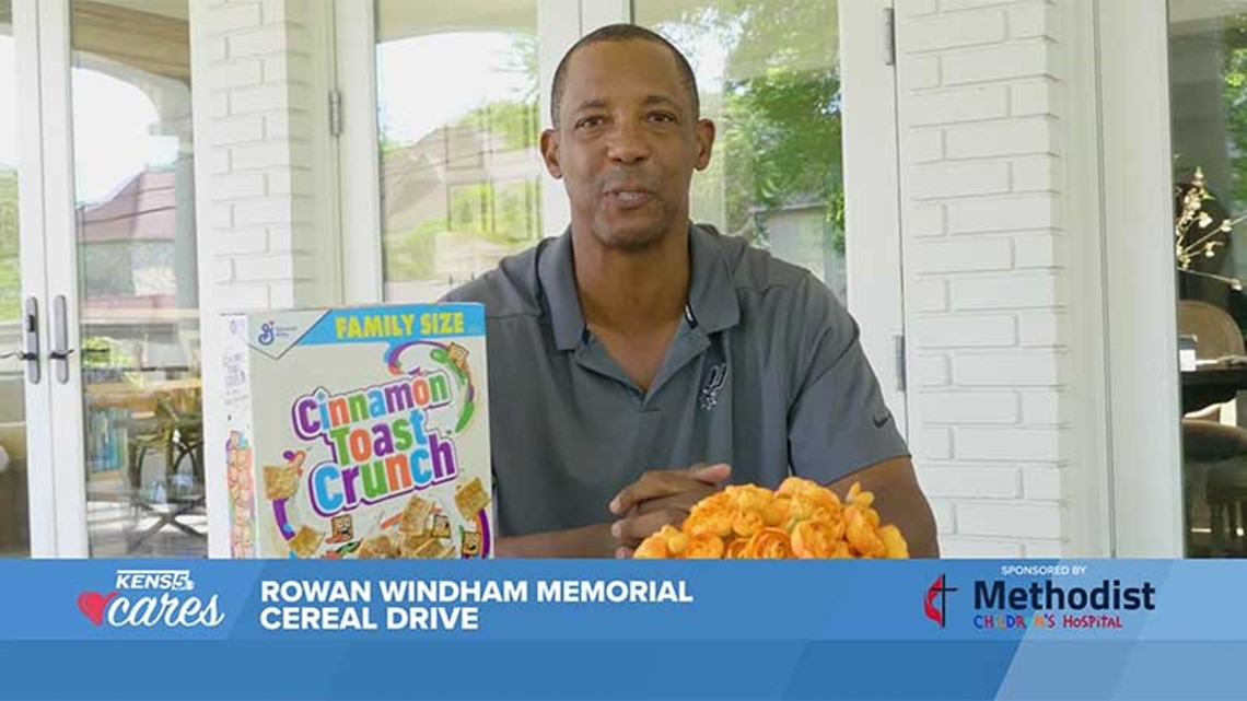 KENS CARES: Donate to the 2021 Rowan Windham Memorial Cereal Drive to help fight childhood hunger