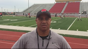 Wagner coach Charles Bruce on the matchup with Alvin Shadow Creek