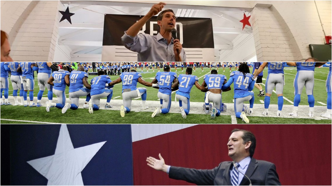How Beto O'Rourke's viral NFL comments can impact his Texas race for U.S. Senate