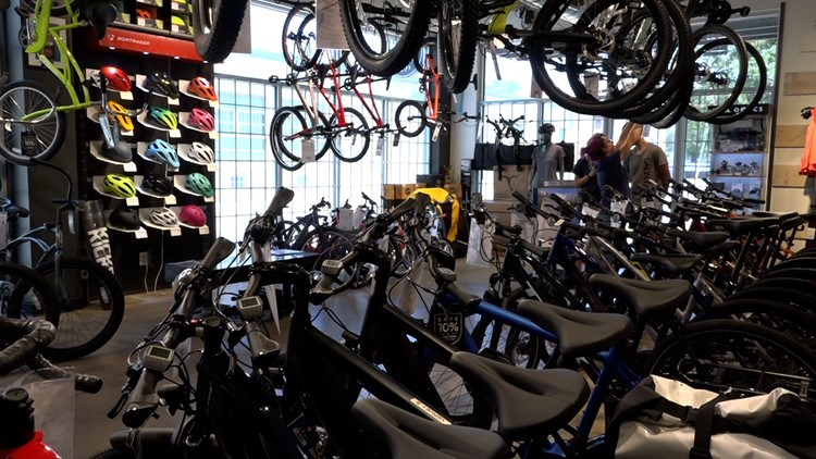 Bicycle boom continues as some shops deal with supply issues