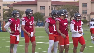 Spring practice opens for UTSA with QB spot up for grabs