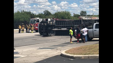 Major accident between car, 18-wheeler reported on the