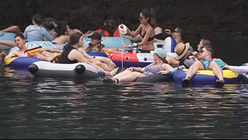 Labor Day brings the 'unofficial' end of summer to tubing in New Braunfels