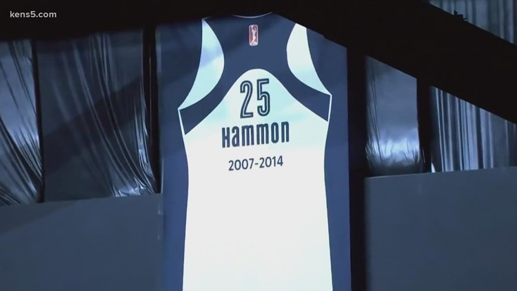 Becky Hammon's number retired by Las Vegas Aces