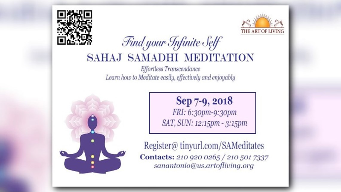 San Antonio meditation event aims to help people relax