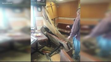 Drivers crash into two restaurants on same street