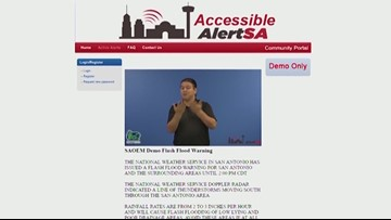 New Alert reaches people with sensory disabilities