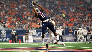 UTSA edges I-35 rival Texas State 25-21 for first victory of season