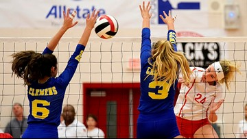 Photos | HS Volleyball: Clemens vs. New Braunfels Canyon