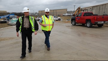 New jail taking shape after delays push completion to spring