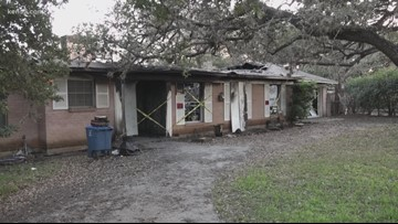 South Texas family leaning on the community for help after 85-year-old woman's house goes up in flames