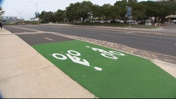 New 'green street' trail open in Medical Center