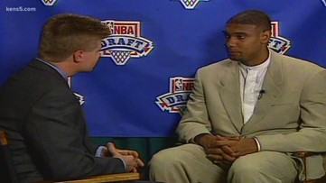 FROM THE VAULT: Tim Duncan's draft-night interview with our Joe Reinagel