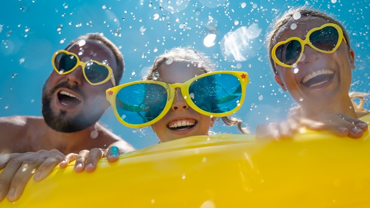 It's Waterpark Day! | Have you been to all of them in the San Antonio area?
