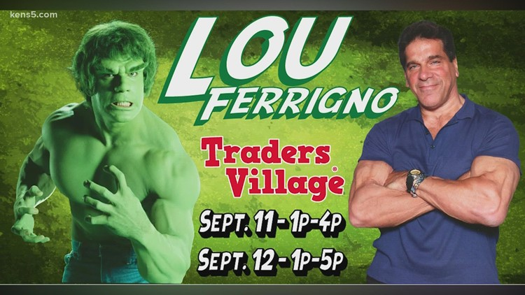 The Incredible Hulk is coming to San Antonio for a good cause