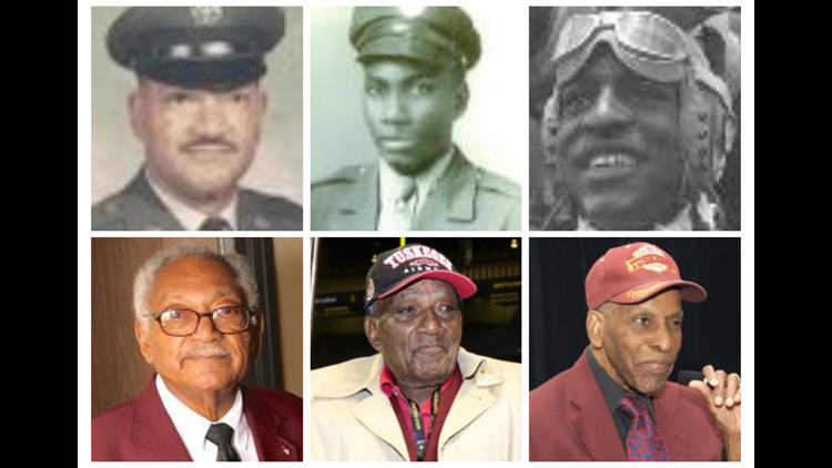 Local Tuskegee Airmen honored on unit's 78th anniversary