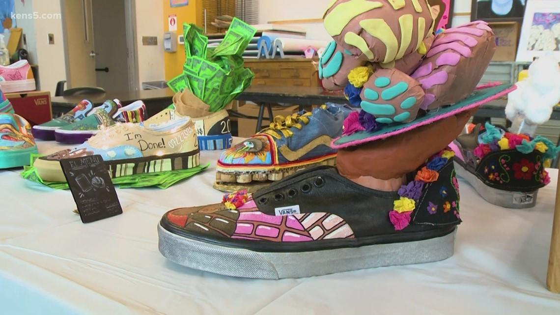 Local students awarded for custom-designed San Antonio Vans