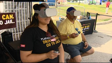 TxDOT tackling drunk driving during Fiesta using virtual reality game