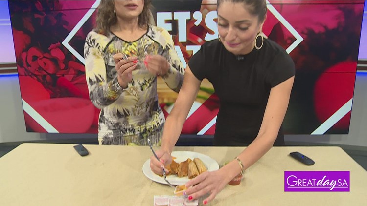 Clarke and Roma approve Chick-Fil-A sauce on tamales