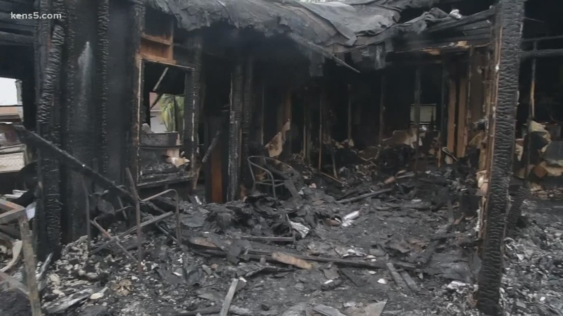 South Texas family picking up the pieces after destructive fire