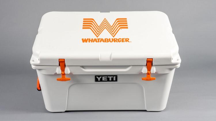 38011b90869 WhataCoolerContest: Win Whataburger for a year, custom YETI cooler ...