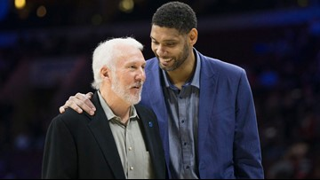 Tim Duncan spotted handing out food on San Antonio's west side