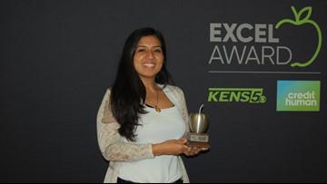 Adriana Abundis wins EXCEL Award for San Antonio ISD