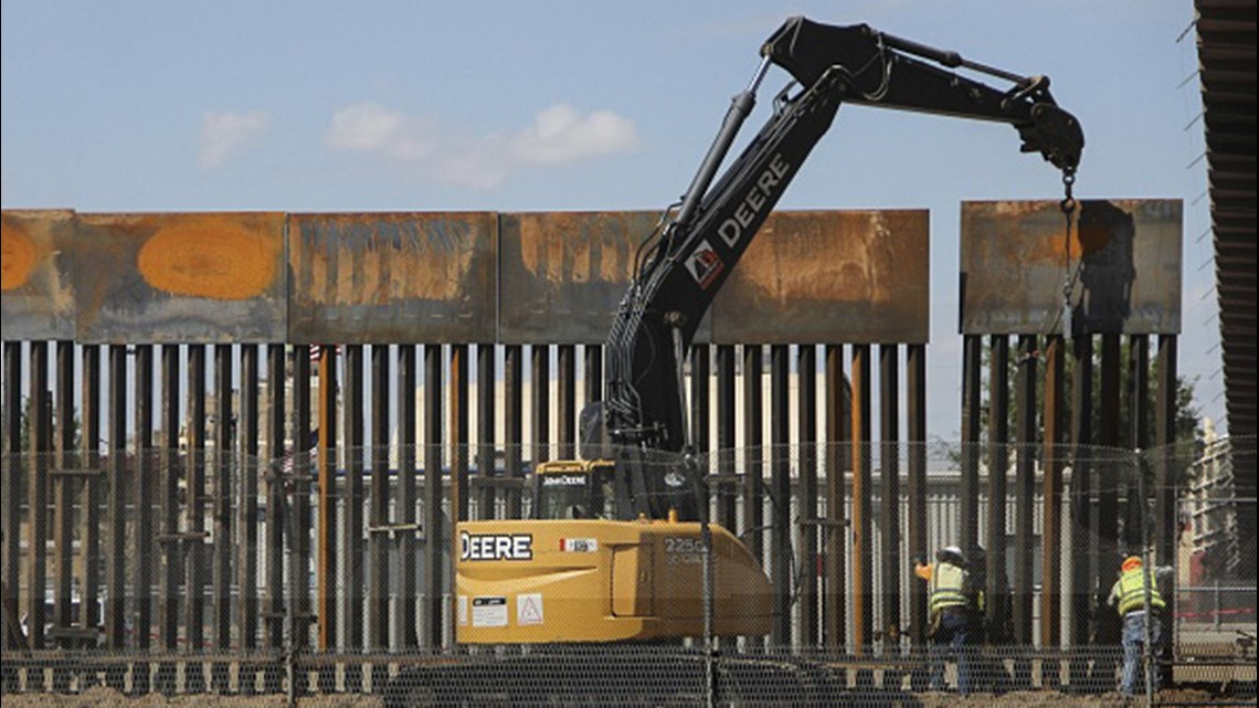 Dhs Waives Environmental Laws To Build 18 Mile Fence Fix