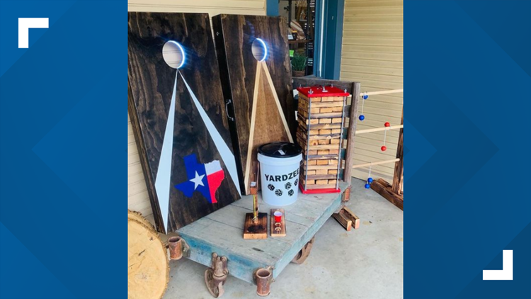 Father builds backyard toys for family BBQ's, then business 🔨