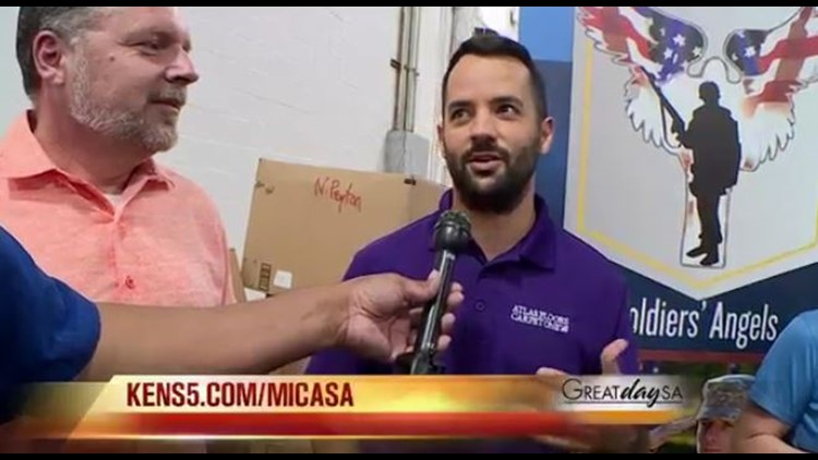 Mi Casa | My Community: Soldier's Angels
