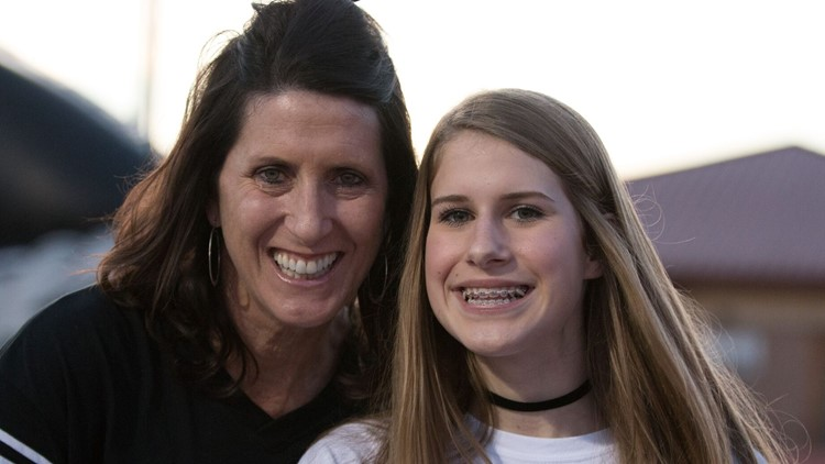UTSA volleyball's Laura Groff acts as coach, recruiter and mother for Churchill senior