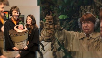 It's a crying Mandrake! Frisco family's 'Harry Potter' costume pic goes viral
