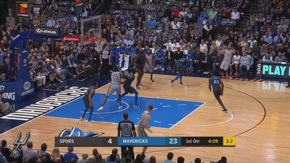 Spurs-Mavs highlights Jan. 16, 2019