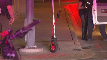 Scooter safety spotlighted after downtown crash leaves man seriously injured