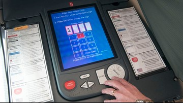 Why are some Texans having trouble with voting machines? This is 2002 technology in 2018
