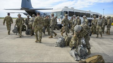 What is the military doing at the border, can they use force and what will it cost