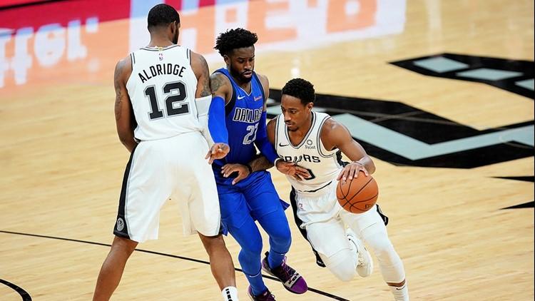BKN Spurs forward LaMarcus Aldridge sets pick for DeMar DeRozan against Mavs 10292018_1541224634194.jpg.jpg