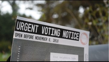 People find 'voter-shaming' flyers in their mail prior to election day in Knoxville