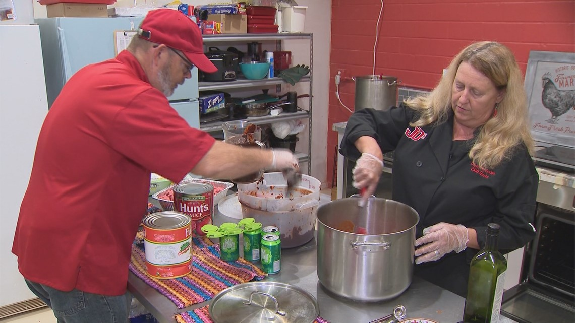 People Who Make San Antonio Great: Chili Queen Diana Anderson
