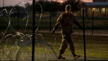 Guardsman at Texas border accused of sexual assault