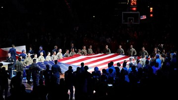 Spurs game Sunday vs. Wizards supports deployed servicemembers