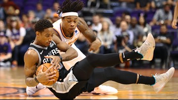 GAME BLOG: Spurs fall to Suns, 116-96