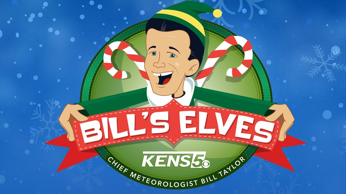 BILL'S ELVES: Drop off unwrapped toys and meet KENS 5's Bill Taylor!