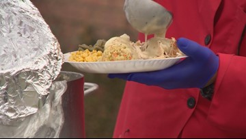 Southside ISD students prepare Thanksgiving meals, but not for themselves