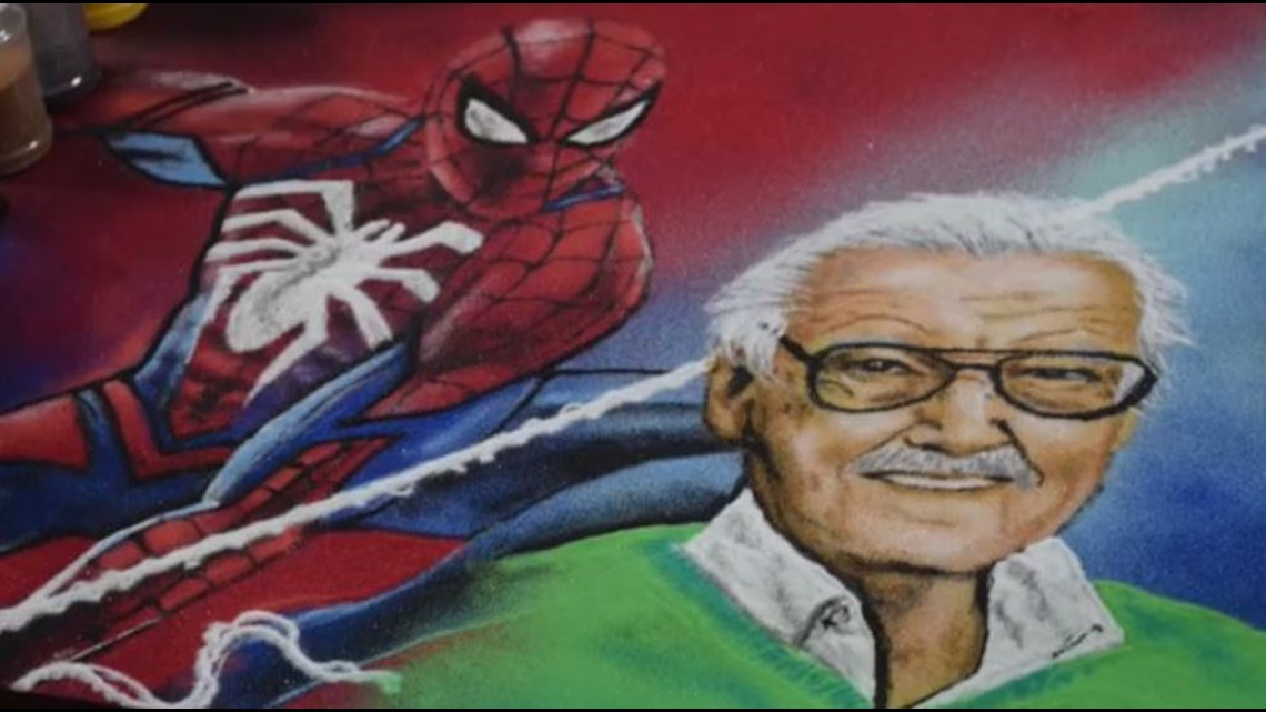San Antonio barber's jaw-dropping Stan Lee portrait goes viral